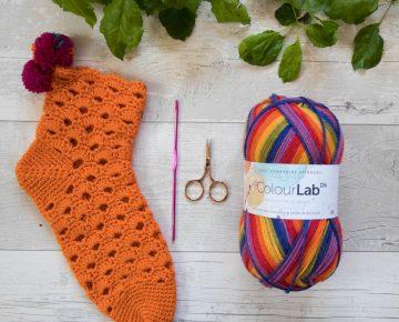 Melmerby Sock tutorial flatlay 3