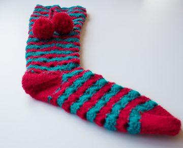 diy christmas socks