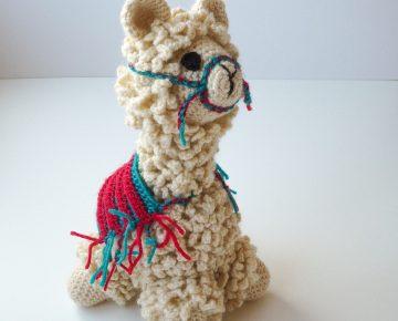 handmade llama