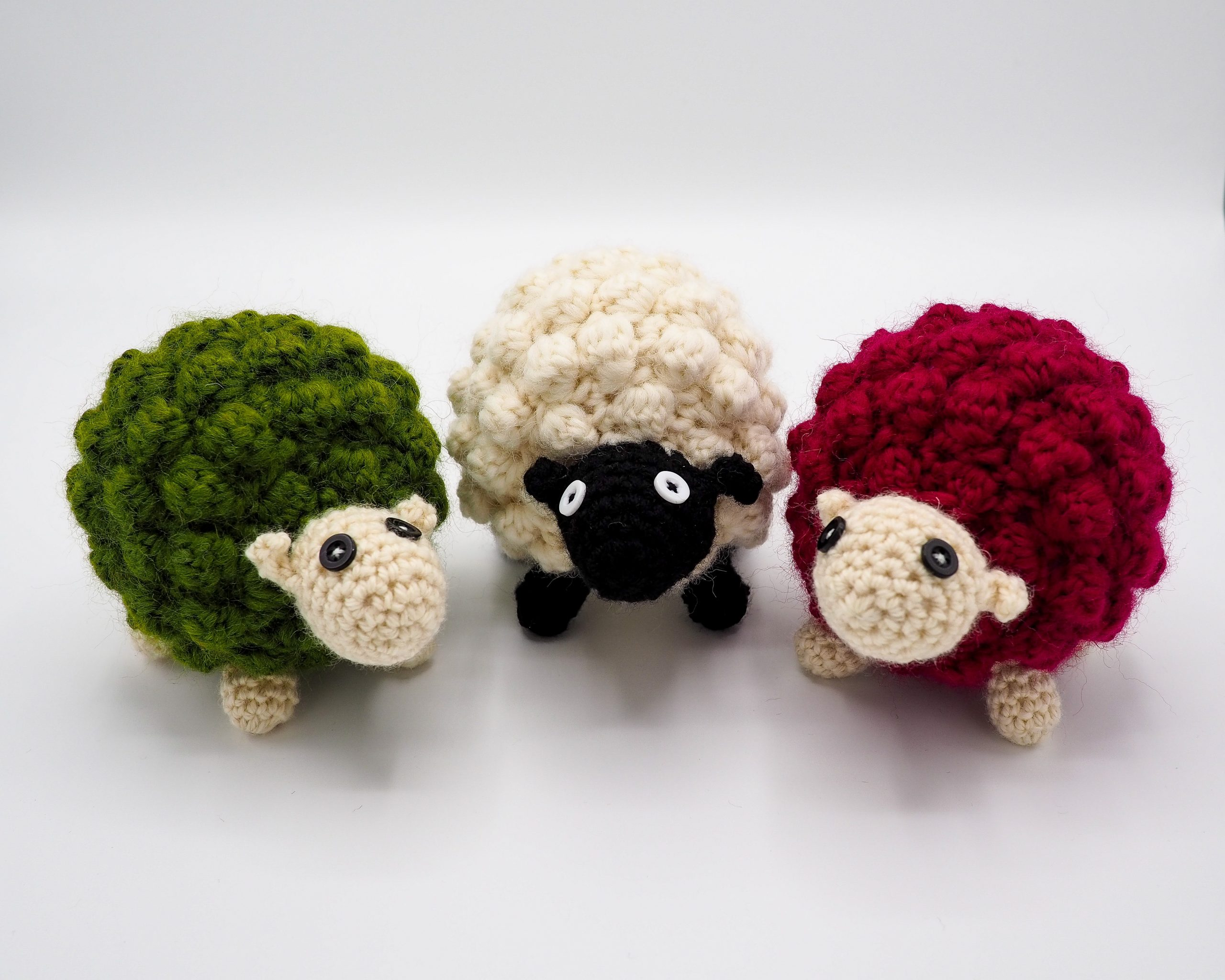 green white red lamb
