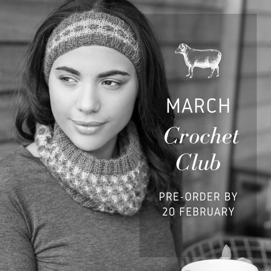 March crochet club