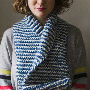 chunky tunisian scarf