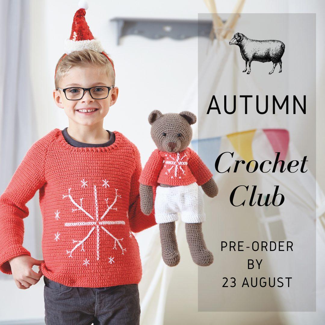 autumn crochet club